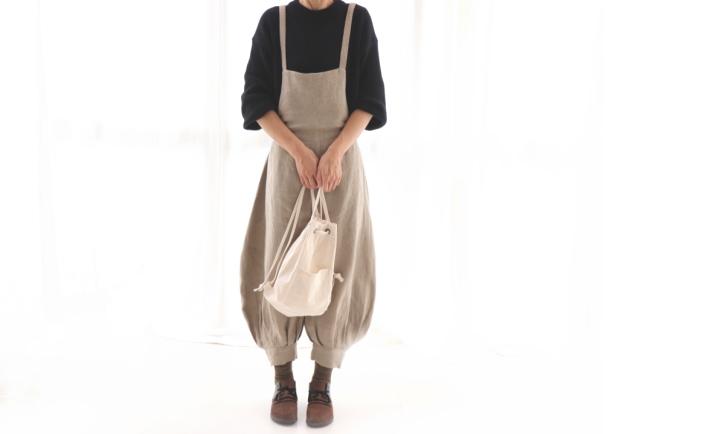 綾織りアンティーク風ラミーリネン IN50261