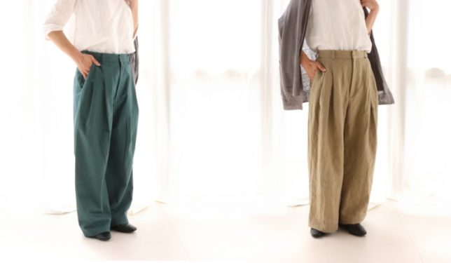 パンツの生地選びに迷われたら生地違いによる比較