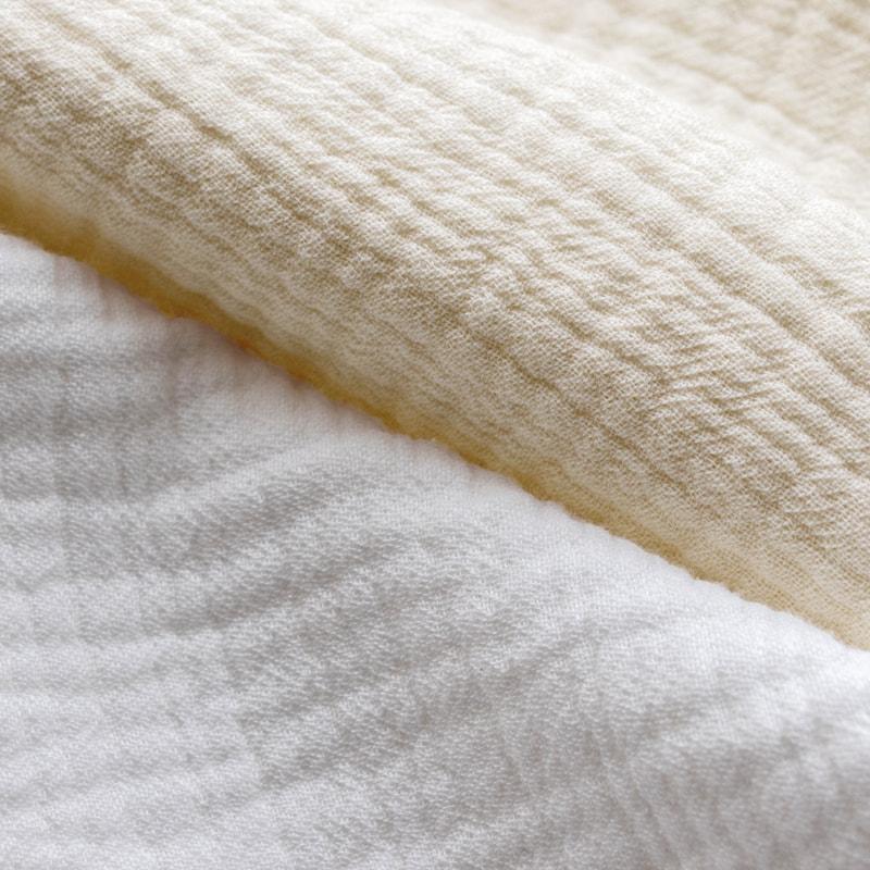 コットン6重織りガーゼ カット品 優れた吸水性と保湿性
