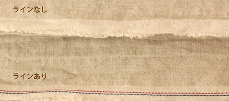 加工の特性上、スジやムラ、織りジワがございます。ご理解下さい。