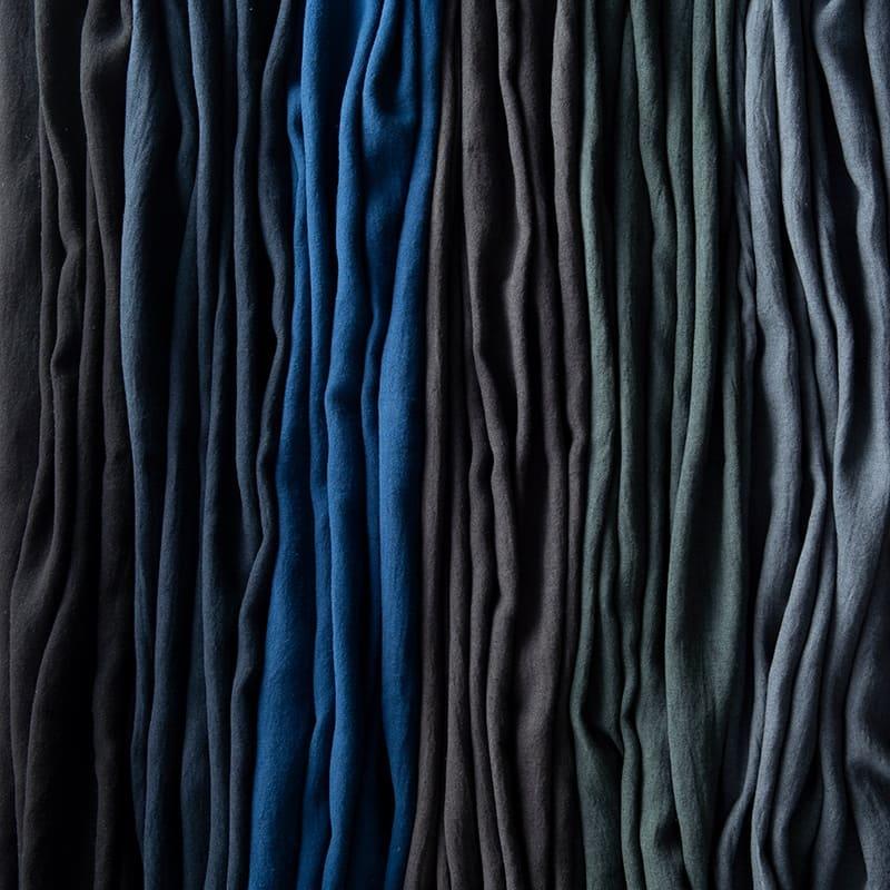 color:左からブラック/ネイビー/インディゴブルー/グレー/グリーン/ブルー