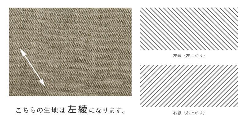 ワイド幅リネンデニム1/25番手