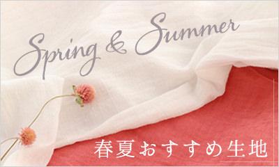 春夏おすすめ