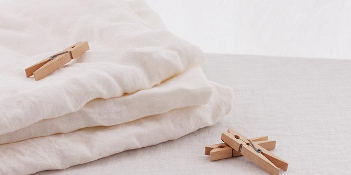 リネン製品の家庭でのお洗濯